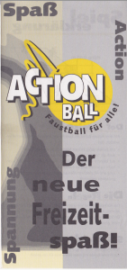 Action Ball Titelseite