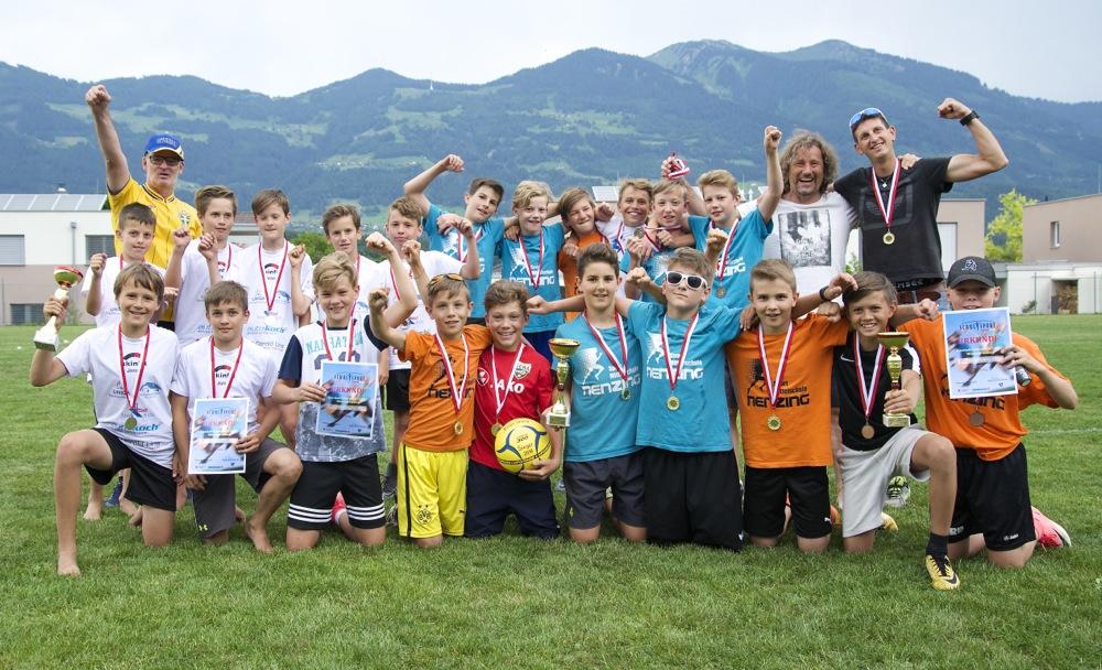 68 Die 3 Siegermannschaften